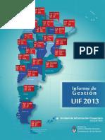 Informe Anual de Gestión 2013 - UIF Argentina