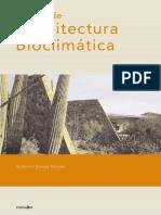 Manual de Arquitectura Bioclimatica