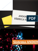 Andon y Fabrica Visual