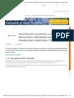 Amortización Económica y Ecológica de Derivaciones Individuales de Viviendas e Instalaciones Industriales (Capítulo II) _ Voltimum España