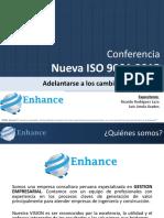Cambios a La Norma ISO 9001
