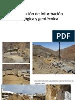 Investigaciones Geotécnicas y Clasficación Geomecánica