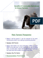 Reaching Commodity Derivatives to Farmers May 2006