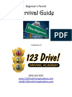 123 Survival Guide With Signs