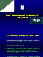 Tratamiento de Minerales de Cobre