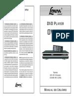 Manual Do Usuário - Dvd Lenoxx Dv-441