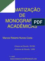Curso de Metodologia Do Prof. Marcos