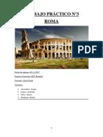 Trabajo Práctico Nº3 Roma