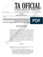 Gaceta Oficial Extraordinaria N° 6.343