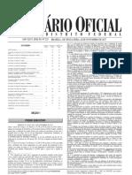 Decreto 38.642 publicado no Diário Oficial do DF de 24 de Novembro