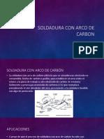 Soldadura Con Arco de Carbon y de Plasma