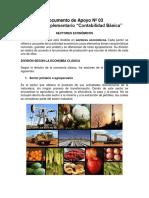 DA03 - Sectores Economicos, Empresa, Clasificacion de Las Empresas