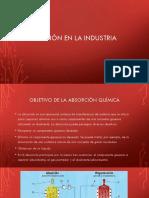 Absorción en La Industria