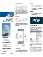PTB110 User Guide in English