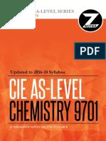 Cie AS Chemistry 9701 Znotes
