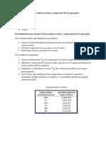 Determinación Del Peso Unitario Suelto y Compactado de Los Agregados