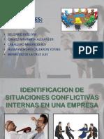 Conflictos en La Empresa - Gestion Empre.