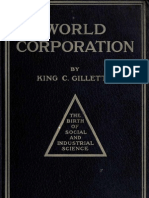 King C Gillette World Corporation 1910