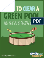 How to Clear a Green Pool