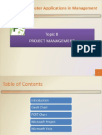 Topic 08 Project Management