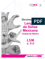 Lenguaje de señas mexico