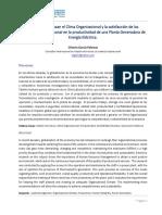 22. Impacto Del Clima Organizacional en La Productividad de Energía_ACIEM 2016