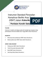 Instrumen Pemantauan KBATKK KENDIRI - April 2017
