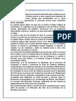 9 de Octubre Independencia de Guaaquil