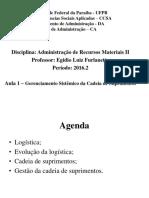 Admateriaisii - Aula 1 (2016.2)