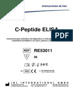 RE-53011 Ifu Es C-peptide Elisa