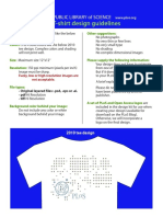 2011 PLoS Tee Design Guidelines