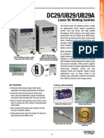 DC29 UB29 UB29A Technical Datasheet