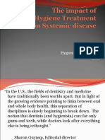 The Impact of Dental Hygiene Treatment on Systemic