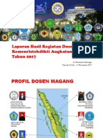 Profil Dosen Magang UNAIR 2017