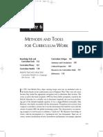 Artikel 9 - Methods and Tools for Curriculum Work (Chapter 6) - Hewitt