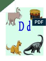 Alphabet Letter D