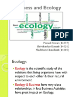 Business and Ecology Ppt
