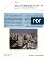 Vision y Practica Del Urbanismo en Chile (1)