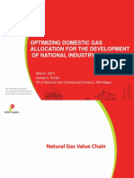 Optimizing Domestic Gas Allocation for the Development of National Industry