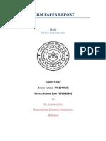 Image Proc_Term Paper Report