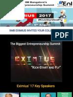 Eximius 2017