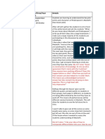 differentiation enactment log