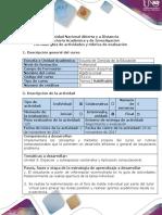Guía de Actividades y Rúbrica de Evaluación-Fase 4-Tarea Colaborativa 3. Unidad 3. Algebra