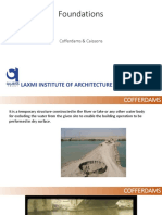 Foundations - Cofferdams and Caissons