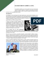 Dictaduras Militares en America Latina