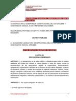 Ley de Archivos Del Estado de Oaxaca
