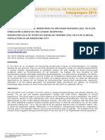 Datos Normativos Del SCL-90-R en Poblacion Clinica de Argentina