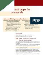 12 - Thermal Properties of Materials