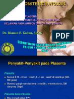 Oligohidramnion (Dr. Risman F.K)