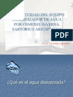 Agua Osmosis